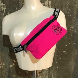 PINK fanny pack with belt